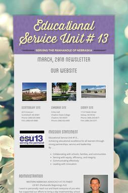 Educational Service Unit # 13