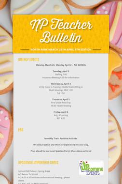 NP Teacher Bulletin