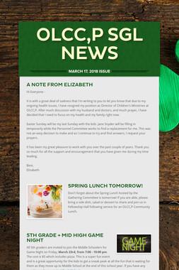 OLCC,P SGL News