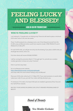 Feeling Lucky and Blessed!