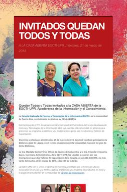INVITADOS QUEDAN TODOS Y TODAS