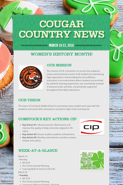 Cougar Country News