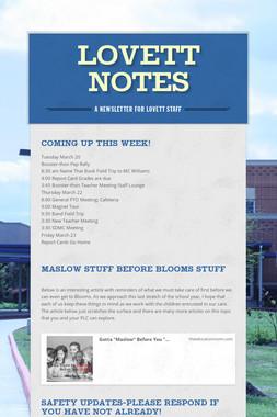 Lovett Notes