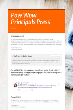 Pow Wow Principals Press