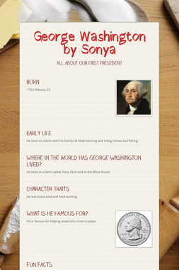 George Washington by Sonya