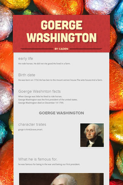 Goerge Washington