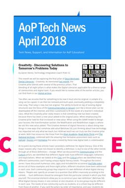 AoP Tech News April 2018