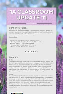 1A Classroom Update 11
