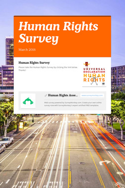Human Rights Survey