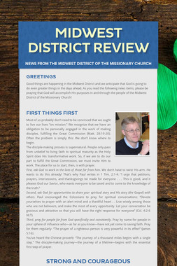 Midwest District Review