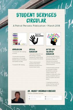 Student Services Circular