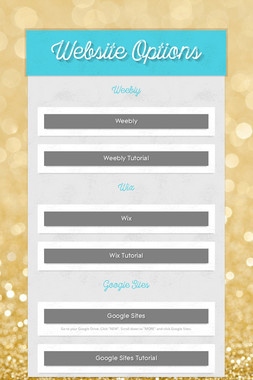 Website Options