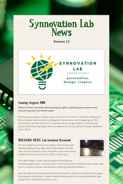 Synnovation Lab News
