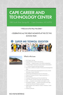CAPE CAREER AND TECHNOLOGY CENTER