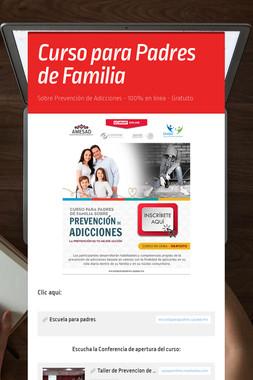 Curso para Padres de Familia