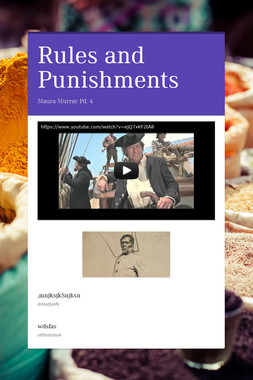 Rules and Punishments