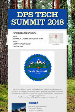 DPS Tech Summit 2018