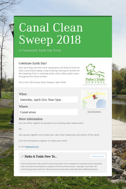Canal Clean Sweep 2018
