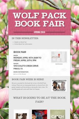 Wolf Pack Book Fair