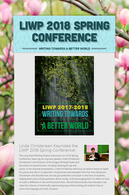 LIWP 2018 Spring Conference