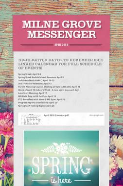 Milne Grove Messenger