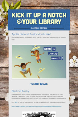 Kick It Up a Notch @Your Library