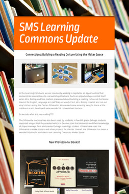 SMS Learning Commons Update