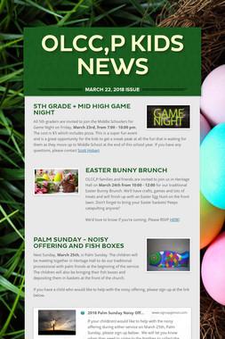 OLCC,P Kids News
