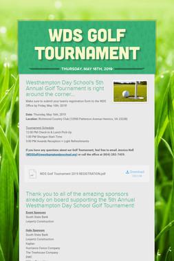 WDS Golf Tournament