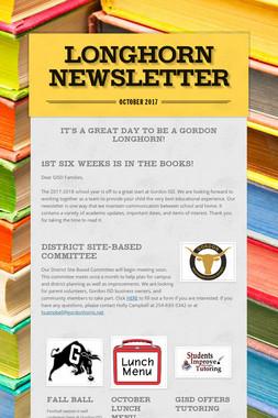 Longhorn Newsletter