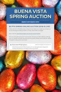 Buena Vista Spring Auction