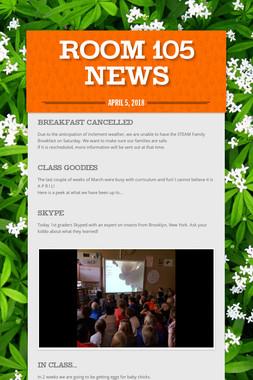 Room 105 News