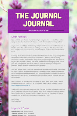 The Journal Journal