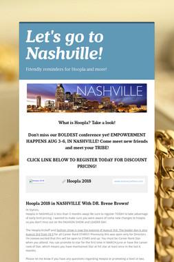 Let's go to Nashville!