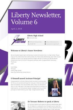 Liberty Newsletter, Volume 6