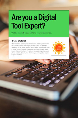 Are you a Digital Tool Expert?