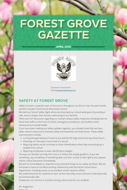 Forest Grove Gazette