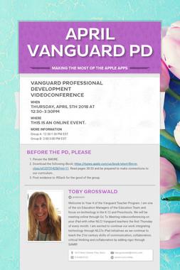April Vanguard  PD