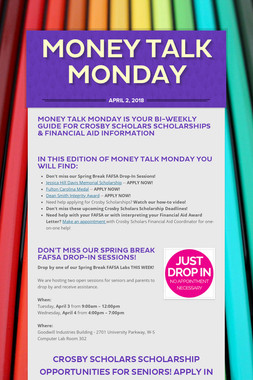 Money Talk Monday