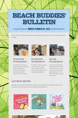 Beach Buddies' Bulletin