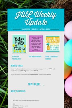 JWL Weekly Update