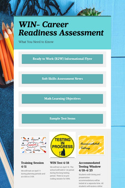 WIN- Career Readiness Assessment