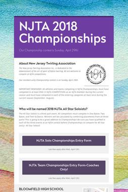 NJTA 2018 Championships