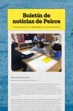 Boletín de noticias de Peirce