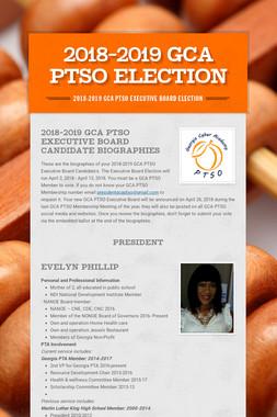 2018-2019 GCA PTSO Election