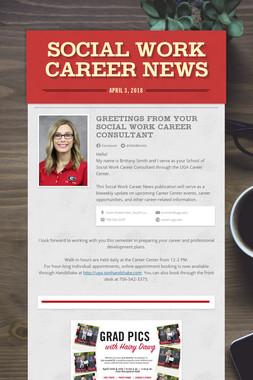 Social Work Career News
