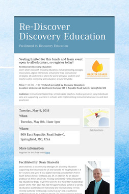 Re-Discover Discovery Education