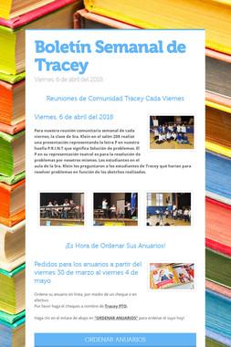 Boletín Semanal de Tracey