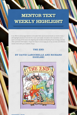 Mentor Text Weekly Highlight