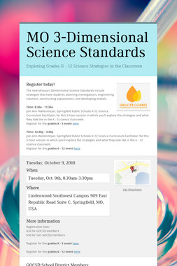 MO 3-Dimensional Science Standards